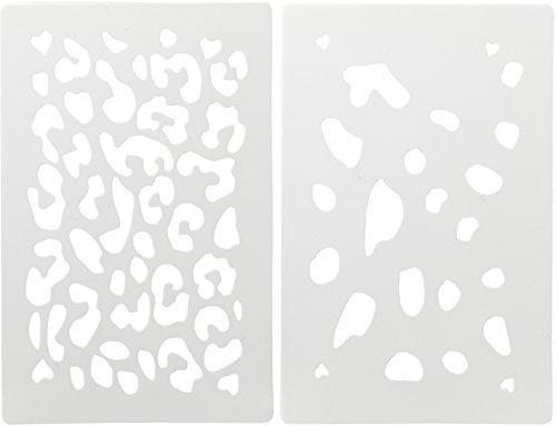 貝印KAI×COOKPADステンシルシート(ヒョウ2枚組)DL-8044