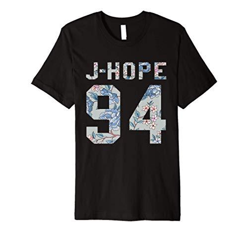 Official BTS J-Hope 94 Kpop Bangtan Boys Merch BTS12FLR Premium T-Shirt