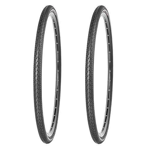 Kujo 28 Zoll Reifen Set 28x1 1/2   700x38B   40-635 mit Reflexstreifen