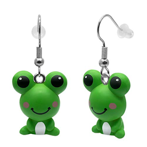 SoulCats® 1 Paar Quak Frosch Ohrringe