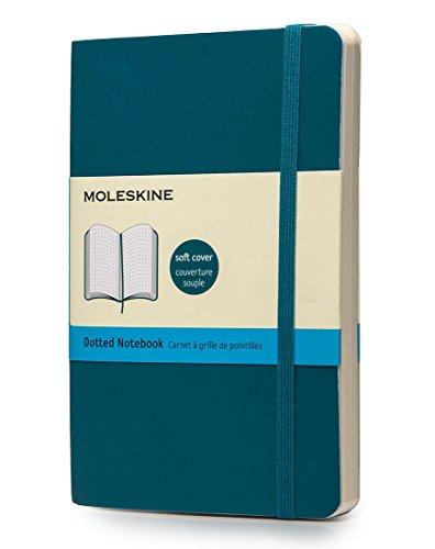 Moleskine Notizbuch, Pocket, Punktraster, Soft Cover, Unterwasser-Blau