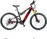 CASTOR Bicicleta electrica Bicicletas eléctricas de montaña, 27.5 Pulgadas con Ruedas para Adultos 27 Bicicleta de Velocidad Deportes al Aire Libre
