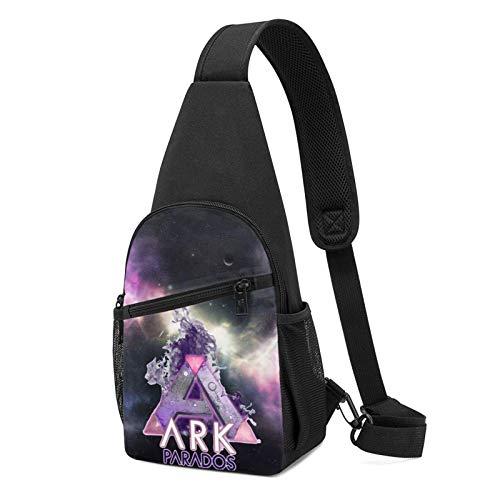 JONINOT Ark Survival Evolution Crossbody Schultertaschen Rucksack Rucksack Umhängetasche Daypack Brusttasche Wandern