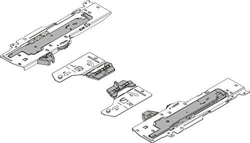 RONIN FURNITURE FITTINGS® Blum TIP-ON BLUMOTION Einheit für TANDEMBOX, Typ L3, NL=350-650 mm, links/rechts T60B3530