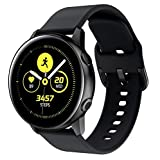 Yayuu para Samsung Galaxy Watch Active Correa, Silicona Reemplazo Correas 20MM Banda Pulseras de Repuesto Correa Suave Compatible con Samsung Active2/Galaxy 42MM Watch/Gear S2 Classic/Gear Sport