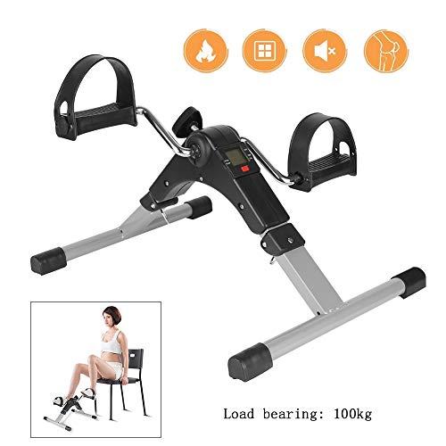 Yajun Mini Heimtrainer Stepper Laufband Cardio Fitness Bein Heimgymnastik LCD Multifunktionale leise Sportlaufmaschinen