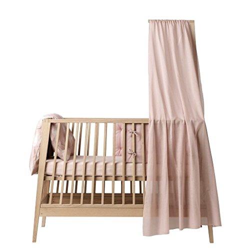 Voile de lit bébé Linea Rose - Leander