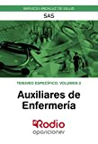 Auxiliares de Enfermeria. SAS. Temario Especifico. Volumen 2: Servicios Andaluz de Salud