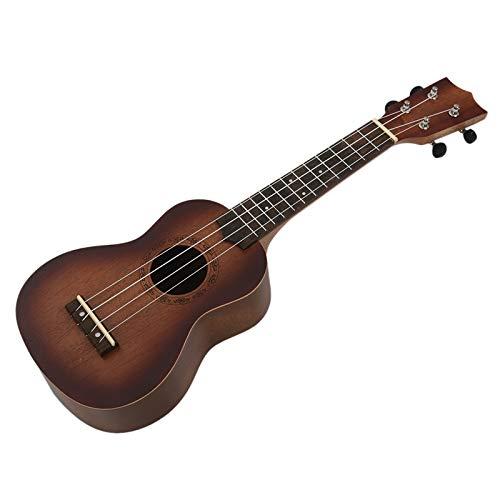 SISHUINIANHUA 21-Zoll-Ukulele, Anfängergitarre, kleine Gitarre, kann EIN Musikinstrument Spielen