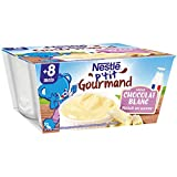 Nestlé Bébé P'tit Gourmand Saveur Chocolat Blanc - Laitage dès 8...