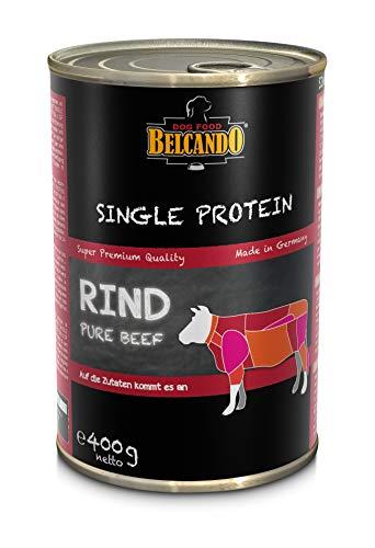 Belcando Nassfutter Hund Single Protein Rind (Rind, 12 x 400 g)