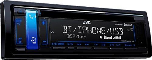 JVC KD-R881BT - Radio, color negro