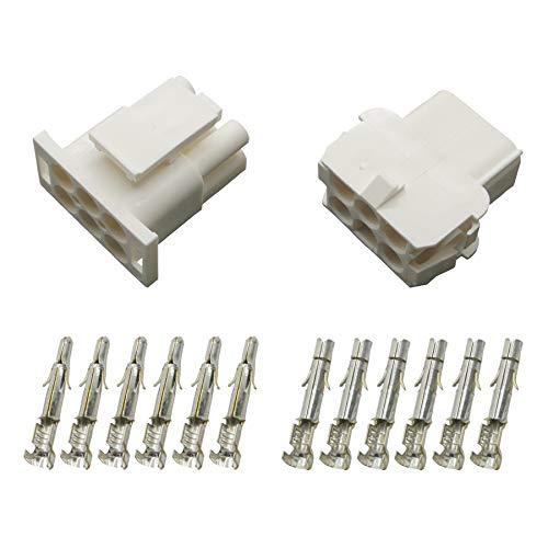 Stecker Set Steckverbinder Universal Mate N Lok 6-polig incl. Kontakten