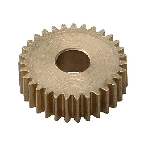 BQLZR Module en laiton métallique 0,5 Module en cuivre pour réparation de pièces industrielles 31 dents de diamètre 15,5 mm