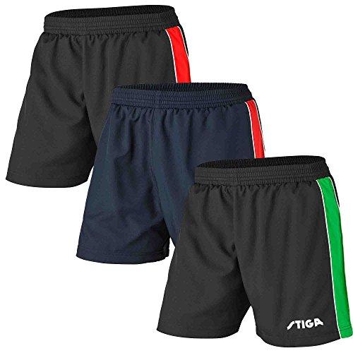 Stiga - Ropa de Tenis de Mesa (Talla S), Color Negro, Verde y Blanco