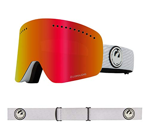 Dragon NFX Snow Goggle (PK White, LUMALENS RED ION)