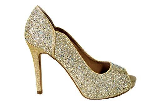 Sandalias de tacón alto para mujer, con diamante cerrado, para boda, novia,...