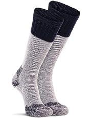 Fox River Outdoor Wick Dry Outlander Heavyweight Thermal Wool Socks, Large, Navy