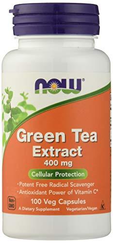 Now Foods Green Tea Extract 400mg Standard - 100 Cápsulas
