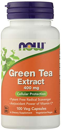 Now Foods Green Tea Extract 400mg Standard - 100 Cápsulas