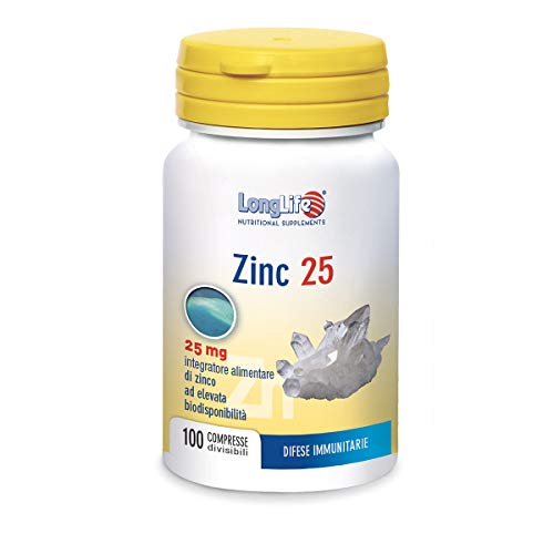 Longlife Zinc 25 Mg - 40 Gr