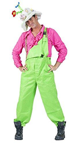 Funny Fashion Latzhose Karnevalshose neongrün S