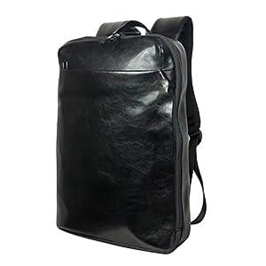 [Smart Traveler] リュック ビジネスリュック バックパック メンズ 薄型 薄い スリム 軽量 軽い 黒 ブラック ( グロッシーブラック )