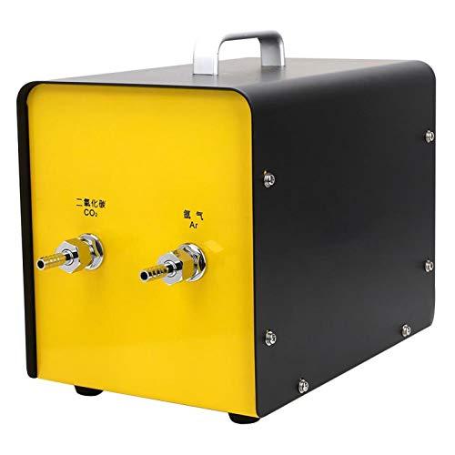 Jeanoko Medidor de Flujo de Gas Mezclador de Gas Medidor de Flujo de Aire Relación de Gas Salida Estable de la máquina Tamaño pequeño con Estructura de Cilindro Mixto súper Grande para(BPQ-06)