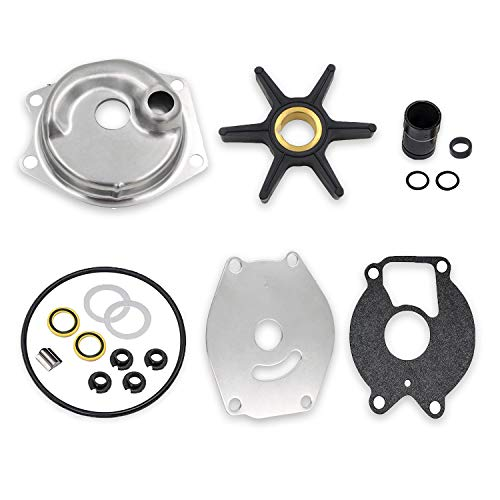 99157T2 Upper Water Pump Repair Kit for Mercury Mariner BigFoot Outboards 2 Stroke 15 20 25 HP XD 4 Stroke 8 9.9 13.5 15 HP 46-99157T2