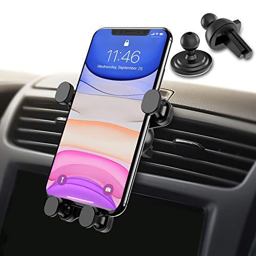 Syncwire Handyhalterung Halter Auto Handyhalter - 4,7-6,5 Zoll Universal Autohalterung Lüftung Lüftungsschlitz Belüftung KFZ Phone Halterung Handy Halter für iPhone Samsung Huawei & mehr Smartphones