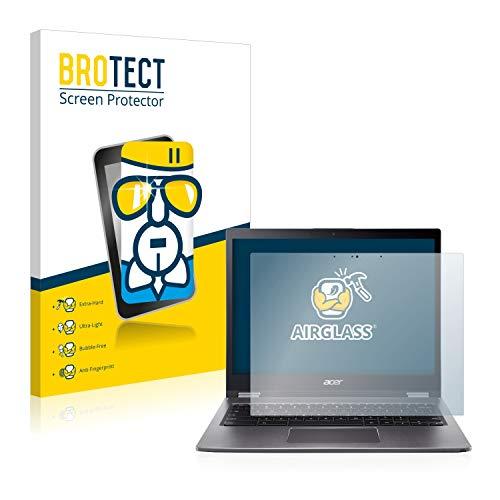 BROTECT Panzerglas Schutzfolie kompatibel mit Acer Chromebook Spin 13 CP713 - AirGlass, extrem Kratzfest, Anti-Fingerprint, Ultra-transparent