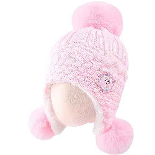 Greneric Kinder Hut Mädchen Winter Prinzessin Aisha niedlich Baby Winter Ohrschutz SP71016 eisblau