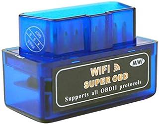 فاحص للاعطال بالسيارة OBDII - OBD2 من اي ال ام SE-28- يعمل بخاصية الواي فاي، ازرق