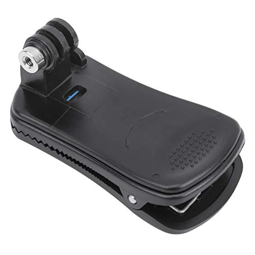 Backpack Shoulder Strap Clip, Mount Adapter 360 Degree Rotating Bracket for Gopro Hero 3 3+ 4 5 6 7 8 for SJ4000 SJ5000 for DJI OSMO POCKET