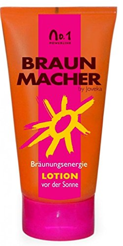 joveka Marron Rademacher Lotion, bräunung intensi Lot de 4 avec une touche Autobronzant, 150 ml, 1