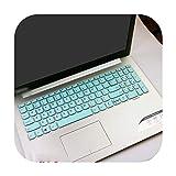 Funda protectora para teclado de ordenador portátil Lenovo IdeaPad S145 15 S145-15AST s145-15iwl 14AST 15IWL 330 320 15,6', color blanco y azul