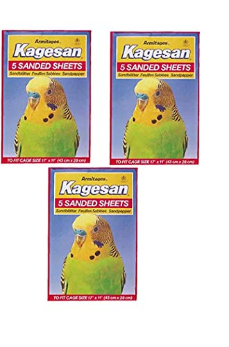 RS Pet BIRD CAGE SAND PAPER SHEE...