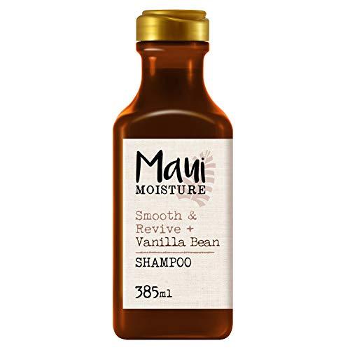 Maui Moisture, Champú Repara y Suaviza Extracto de Vainilla, Pelo Encrespado y Rebelde, 385 ml