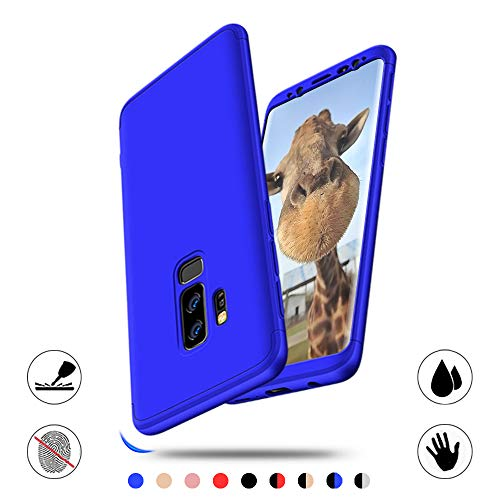 Hülle Kompatibel mit Samsung Galaxy S9 Plus AChris 3 im 1 Handyhülle Ultrahart Schlank Stoßfest Bumper Cover für Samsung Galaxy S9 Plus