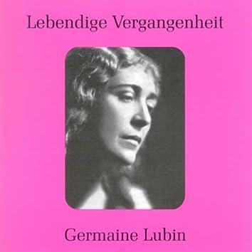 Lebendige Vergangenheit - Germaine Lubin