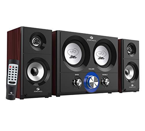 Zebronics ZEB-BT361RUCF 2.2 Multimedia Speaker with Fm Radio,Bluetooth Connectivity and Aux Connectivity