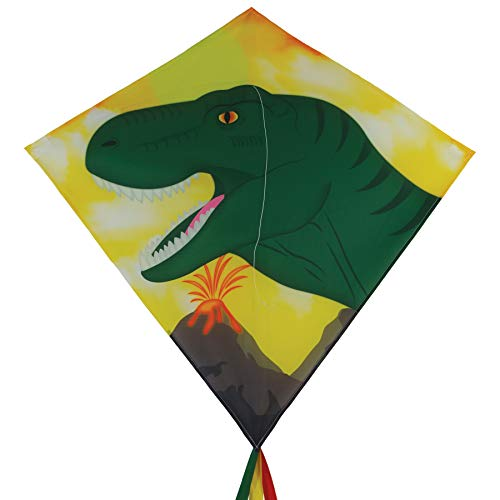 "In the Breeze 3275 - Dino 30"" Diamond Kite - Fun, Easy Flying Kite"