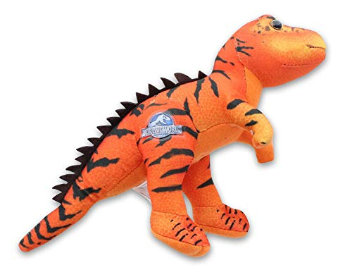 Johnny's Toys Jurassic World 7 Inch Stuffed Character Plush   Hybrid Red T-Rex