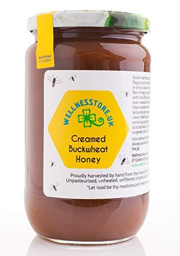 1kg ECO Roher Buchweizenhonig | Trüber Buchweizenhonig | Cremiger Honig | Unpasteurisierter Honig | Starker Geschmack | Unerhitzter Honig | einzelner Ursprung | Purer Honig | Natürlicher Honig