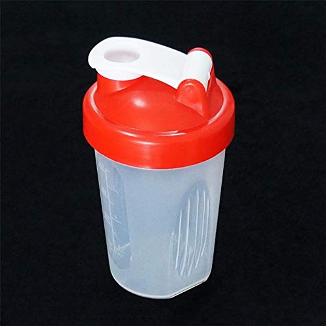 Maxcrestas - 400ML Plastic Shake Cups Drink Creative Large Capacity Free Shake Blender Shaker Mixer Cups Drink Whisk Ball Bottle New Arrivals