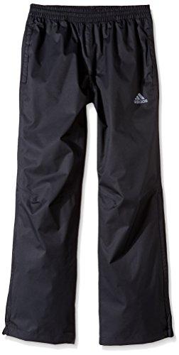 adidas Golf Boy's Provisional Rain Pants (Big Kids), Black, Small