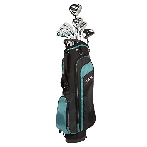 Ram Golf EZ3 Ladies Golf Right Hand Clubs Set with Stand Bag - Graphite Shafts