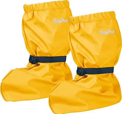 Playshoes Baby , leichte Krabbel-Schuhe für Jungen und Mädchen, mit Playshoes-Motiv, Gelb (gelb 12), M