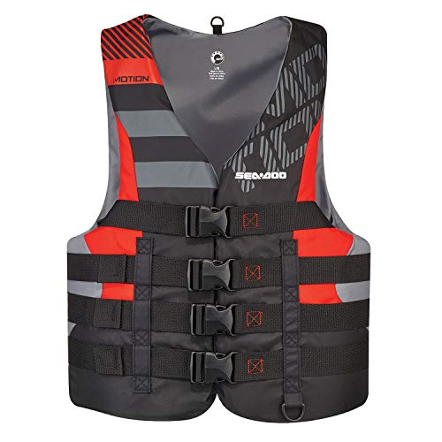 "Sea-Doo New OEM Men's XL,""The All-Purpose"" Motion Life Jacket/PFD, 2867671230"