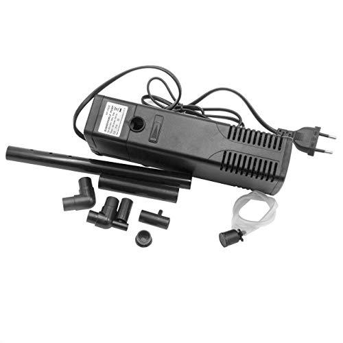vhbw Aquarienfilter Filter für Aquarium bis 150l Innenfilter mit Filterschwamm, Pumpleistung bis 1000l/h Ersatz für Hidom AP-1500L